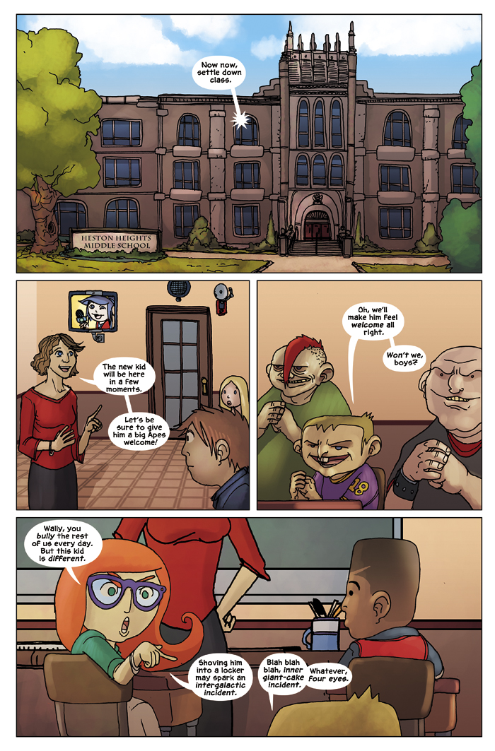 New in School Chapter 1 Page 2
