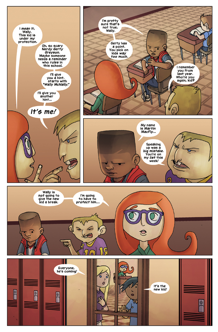 New in School Chapter 1 Page 3