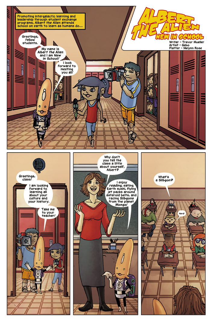 New in School Chapter 1 Page 4