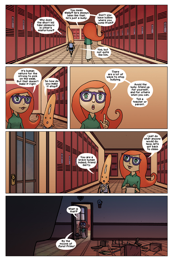New in School Chapter 1 Page 12