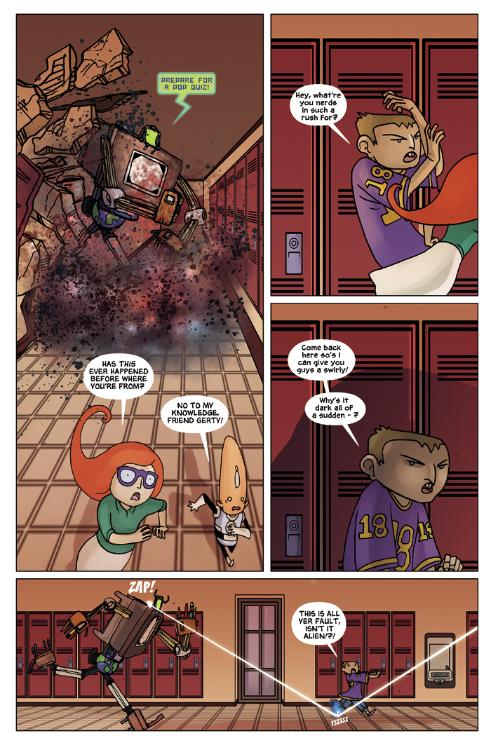 New in School Chapter 1 Page 14