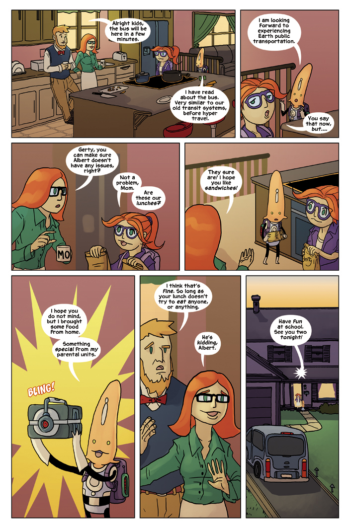 New in School Chapter 2 Page 7