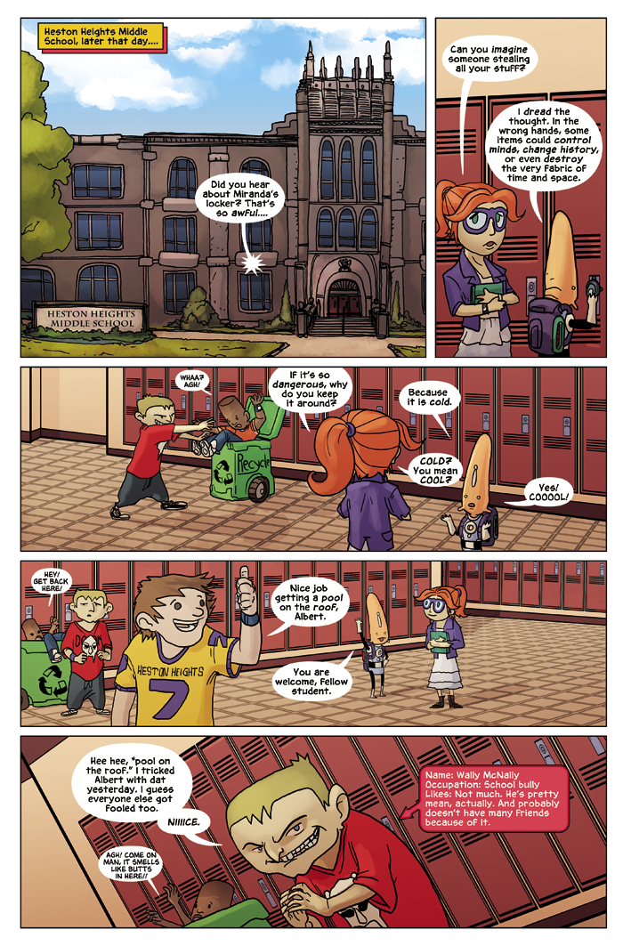 New in School Chapter 2 Page 9