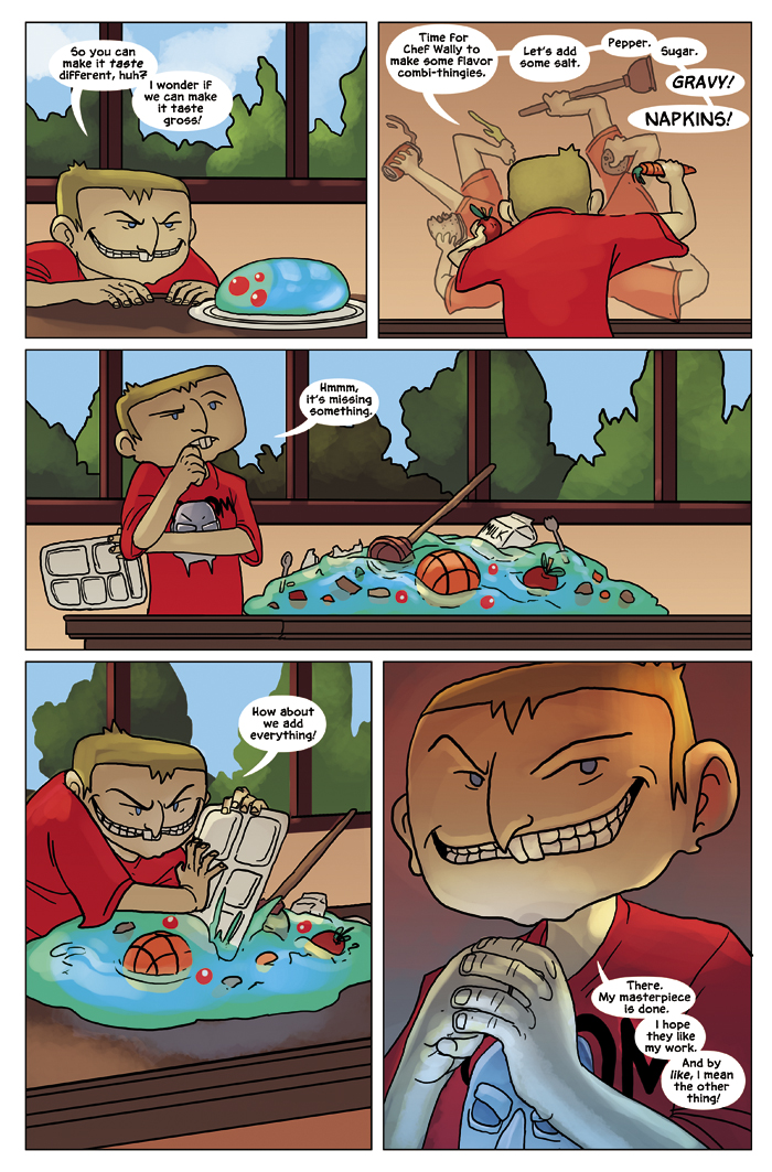 New in School Chapter 2 Page 12