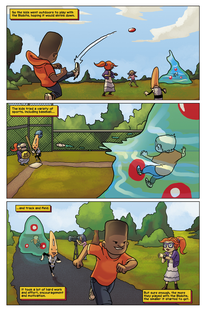 New in School Chapter 2 Page 19