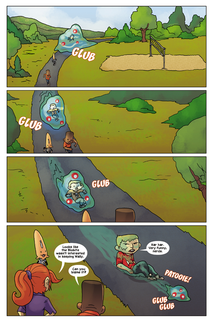 New in School Chapter 2 Page 20