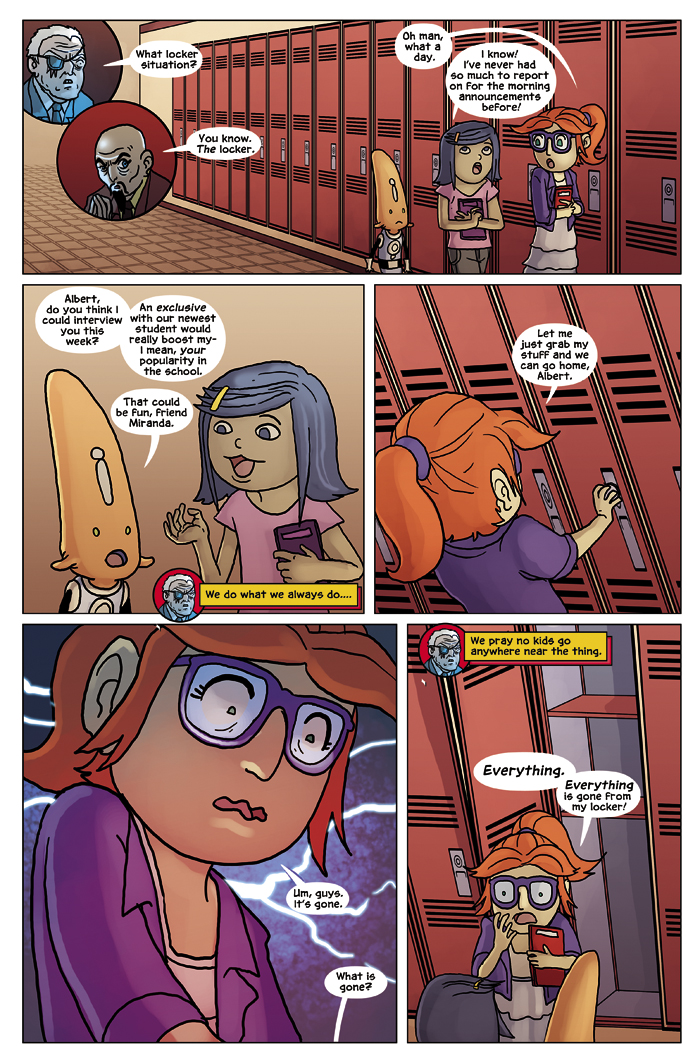 New in School Chapter 2 Page 23
