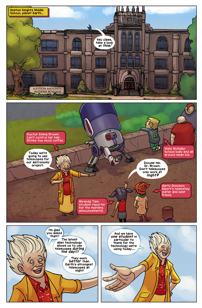 New in School Chapter 3 Page 1
