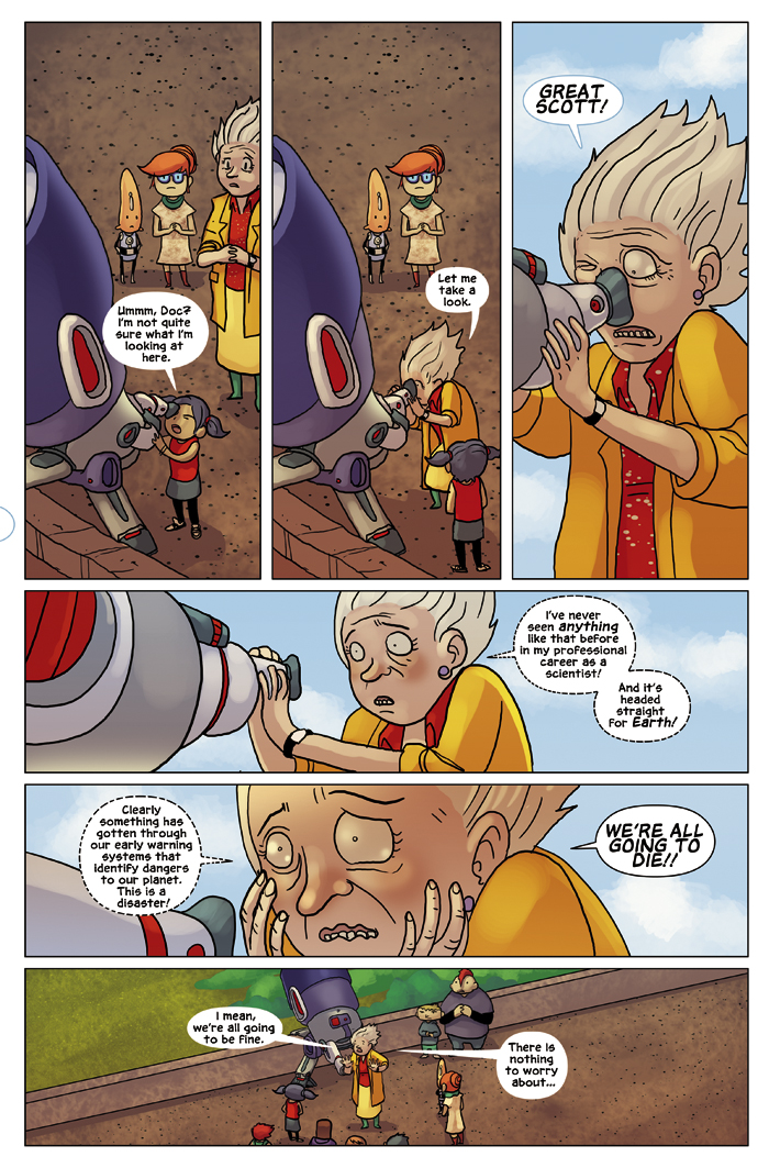 New in School Chapter 3 Page 3