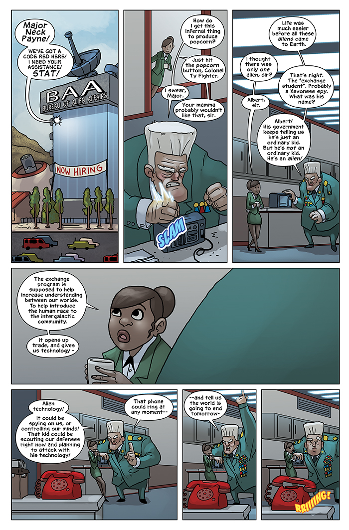 New in School Chapter 3 Page 5