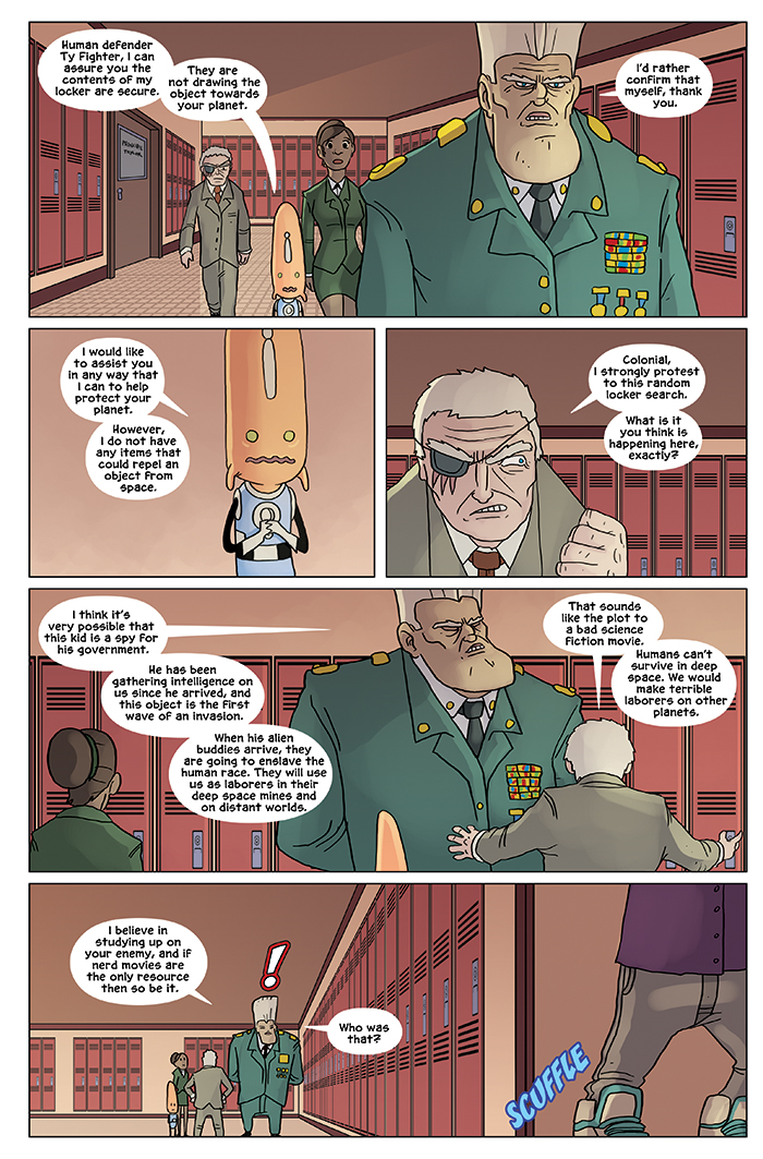 New in School Chapter 3 Page 16