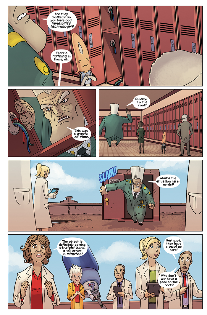 New in School Chapter 3 Page 18