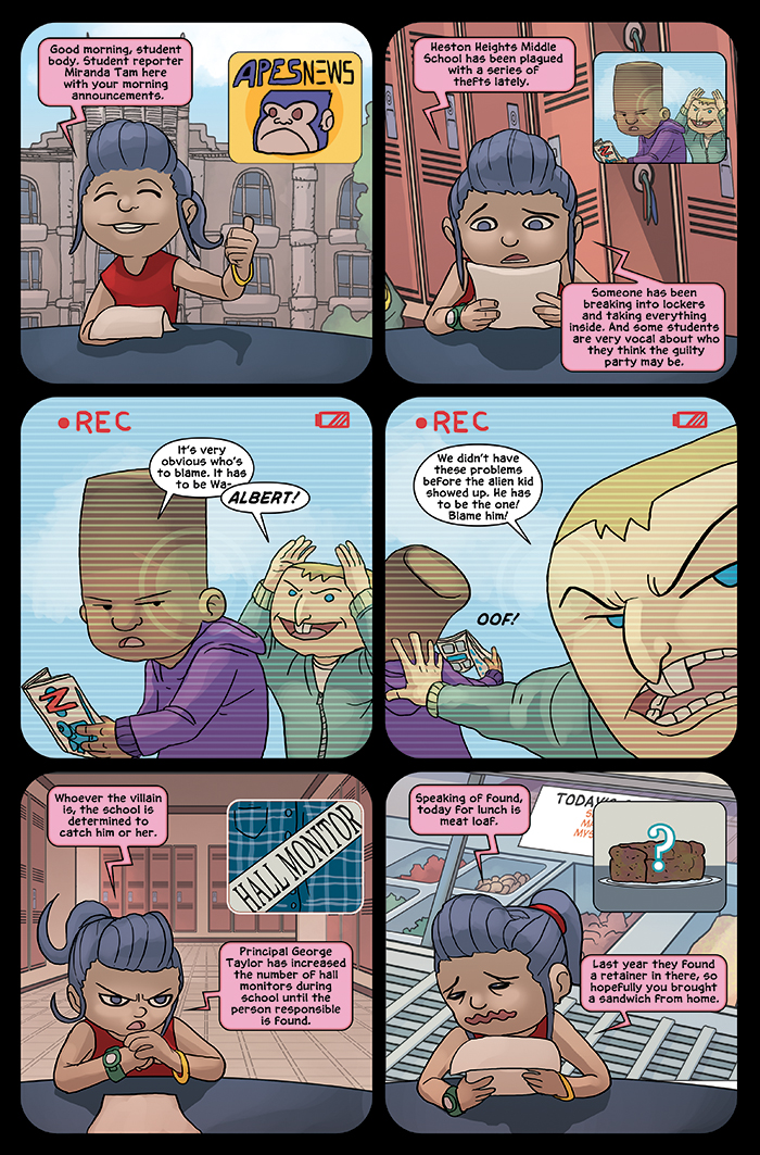 New in School Chapter 4 Page 1