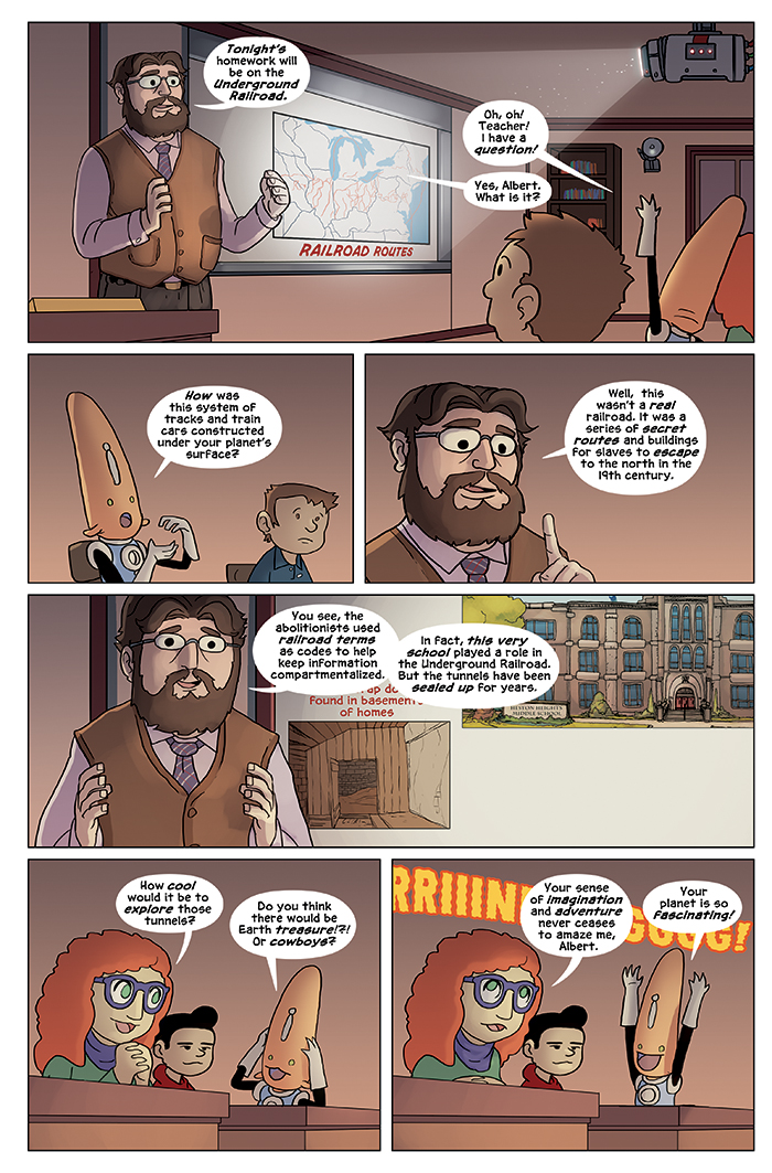 New in School Chapter 4 Page 4