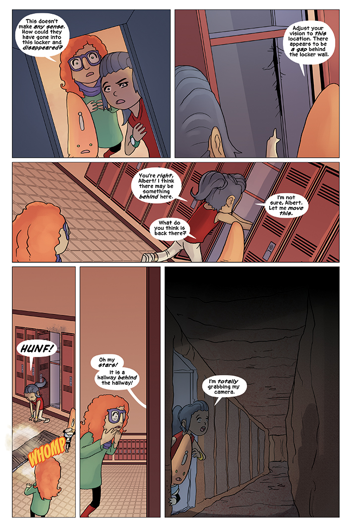 New in School Chapter 4 Page 9