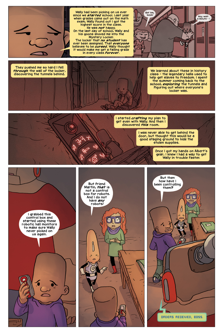 New in School Chapter 4 Page 15