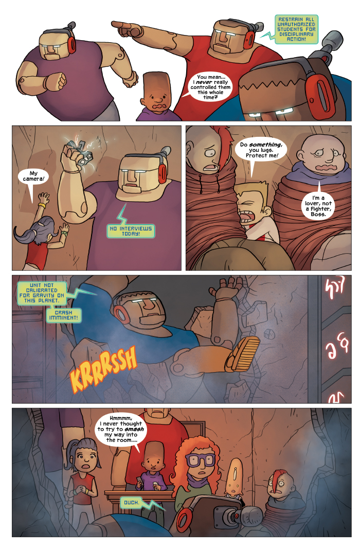New in School Chapter 4 Page 16
