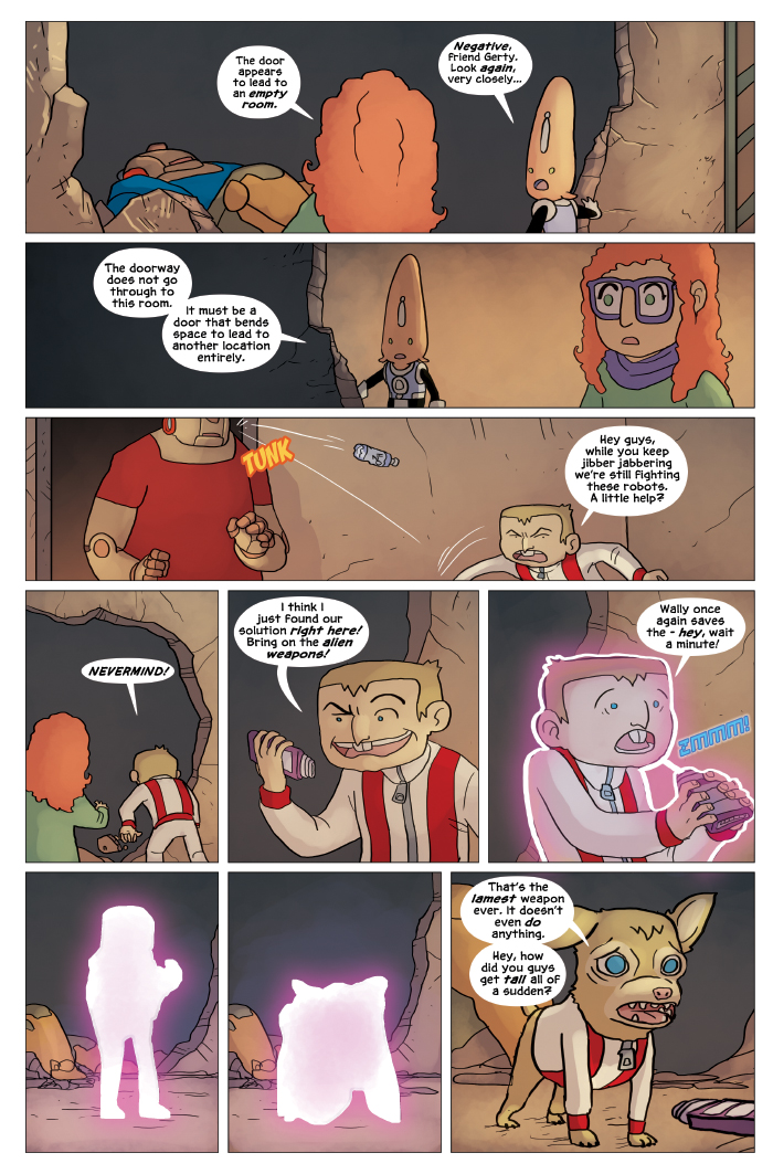 New in School Chapter 4 Page 17