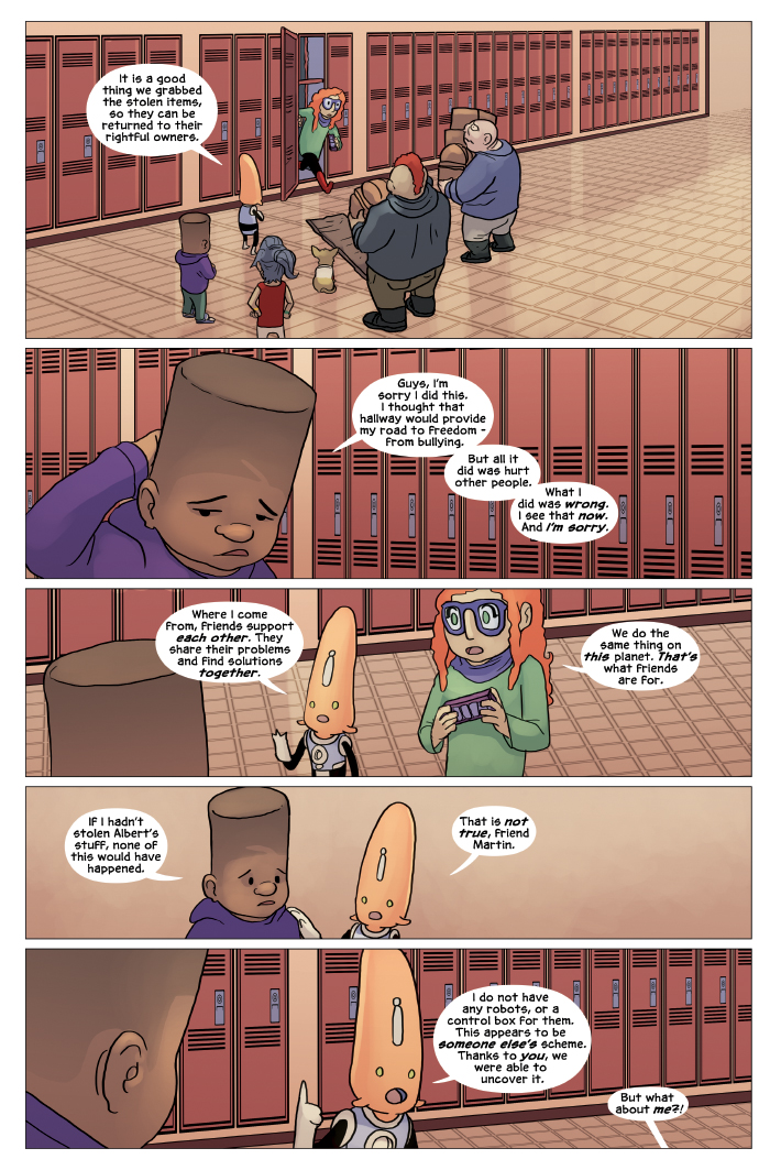 New in School Chapter 4 Page 19