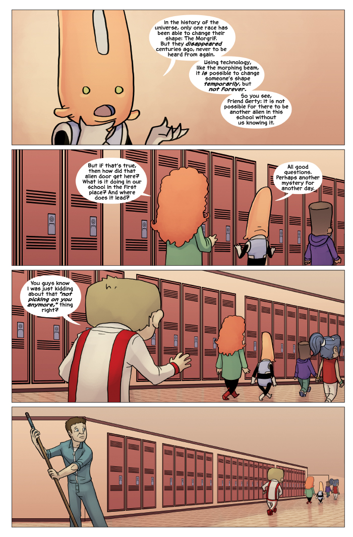 New in School Chapter 4 Page 22