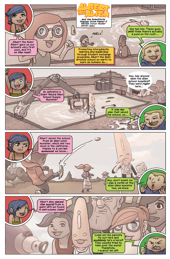 Substitute Teacher from Planet X Chapter 5 Page 2