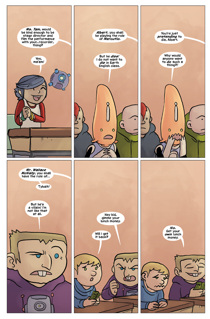 Substitute Teacher from Planet X Chapter 5 Page 7