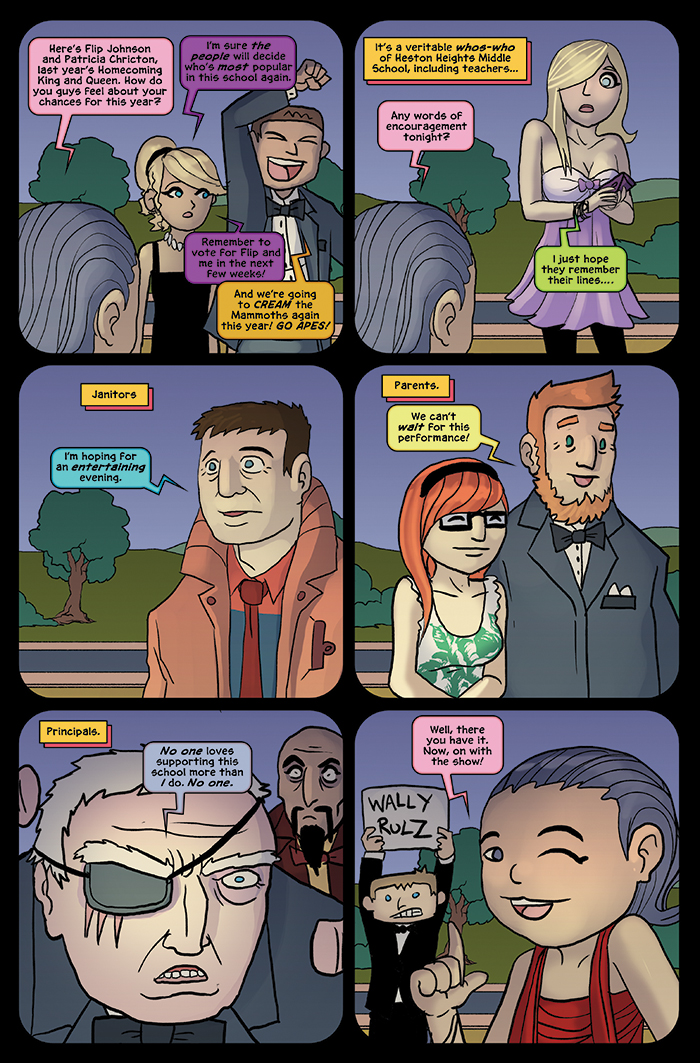 Substitute Teacher from Planet X Chapter 5 Page 12