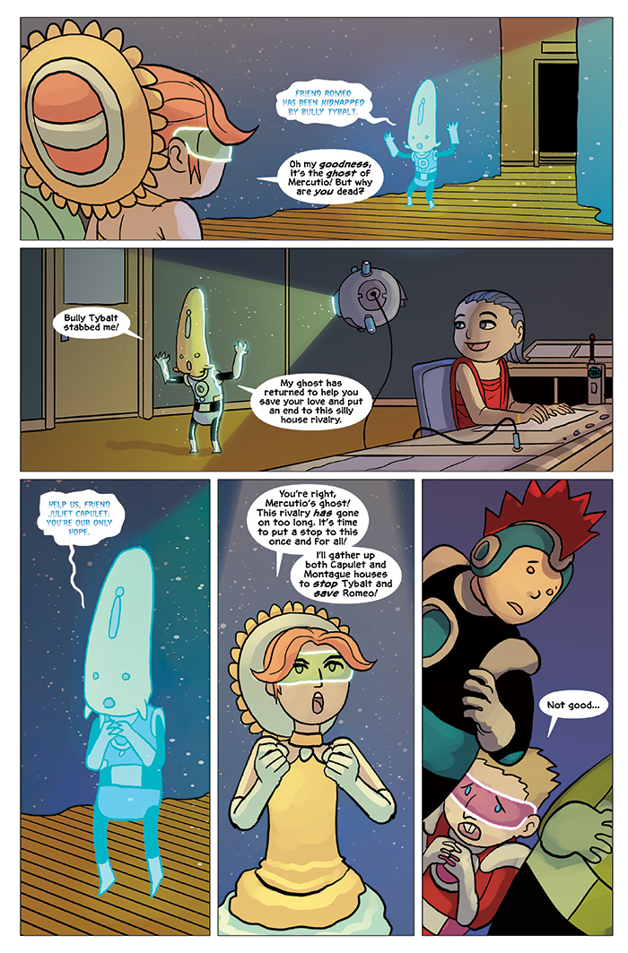 Substitute Teacher from Planet X Chapter 5 Page 18