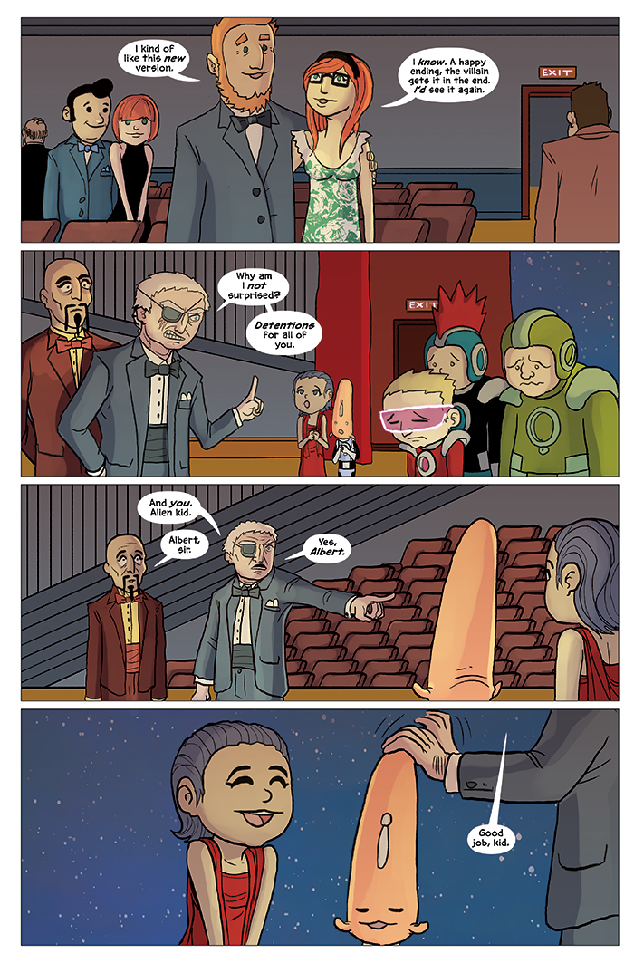Substitute Teacher from Planet X Chapter 5 Page 23