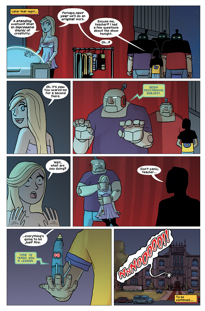 Substitute Teacher from Planet X Chapter 5 Page 24