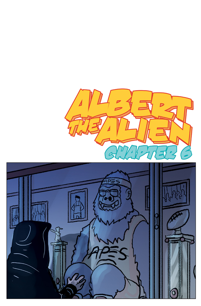 Substitute Teacher from Planet X Chapter 6 Cover