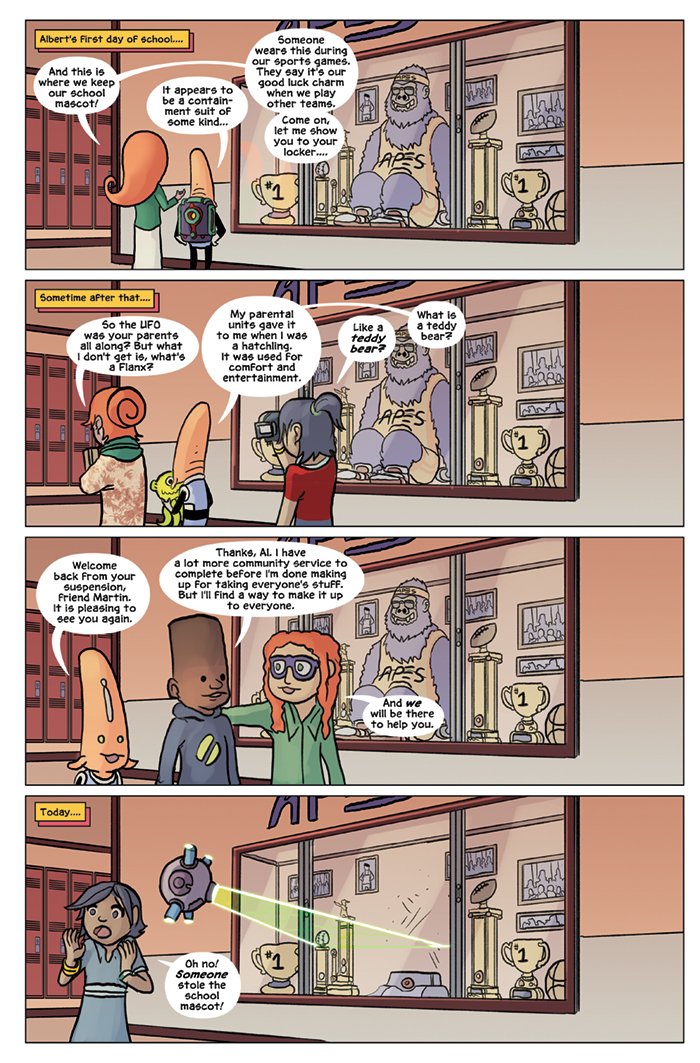 Substitute Teacher from Planet X Chapter 6 Page 1