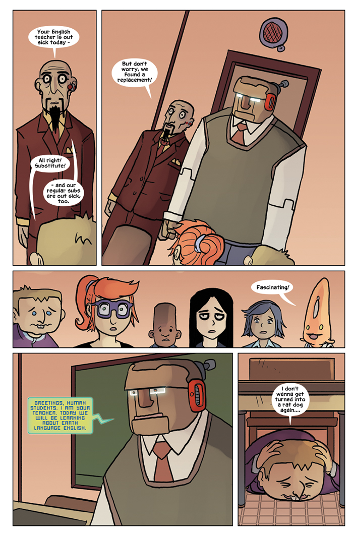 Substitute Teacher from Planet X Chapter 6 Page 5