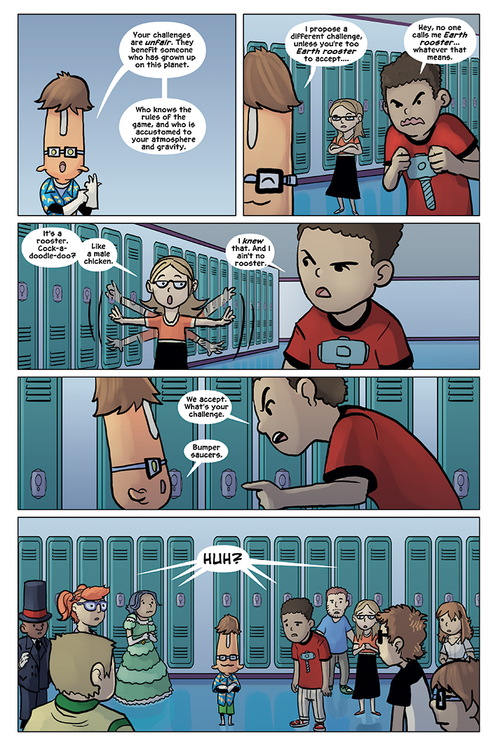 Substitute Teacher from Planet X Chapter 6 Page 13