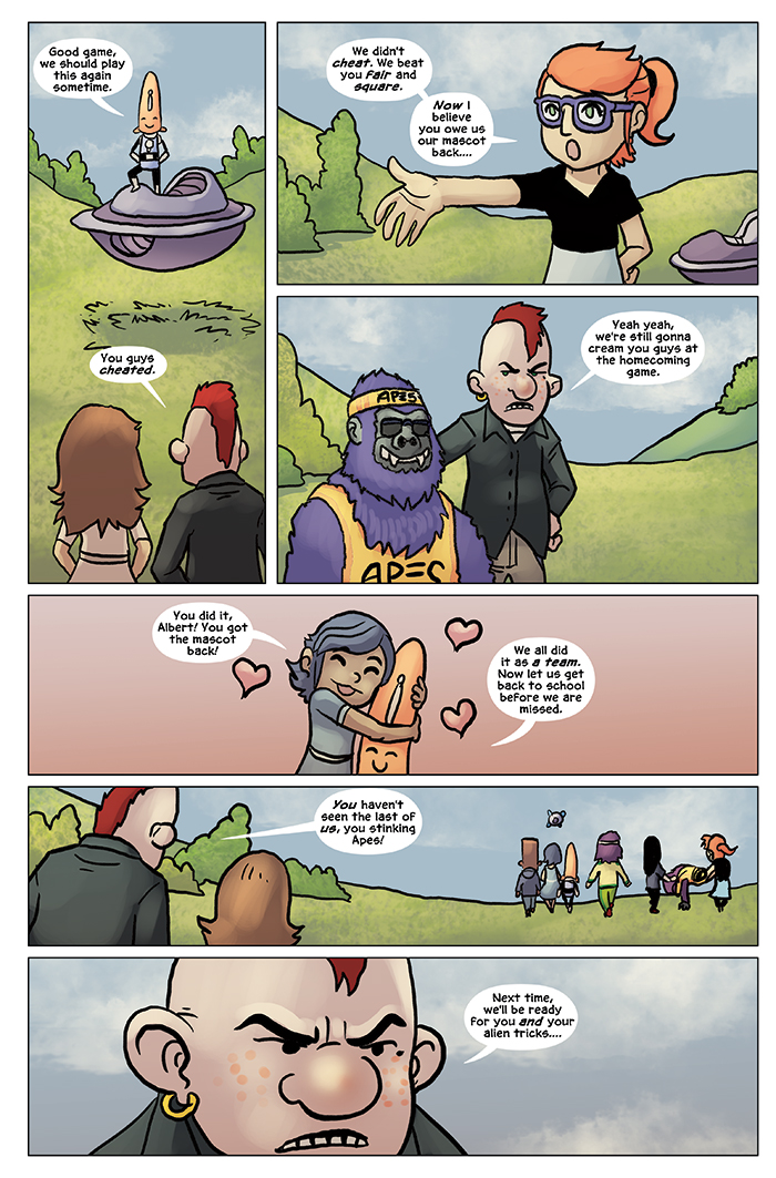Substitute Teacher from Planet X Chapter 6 Page 19