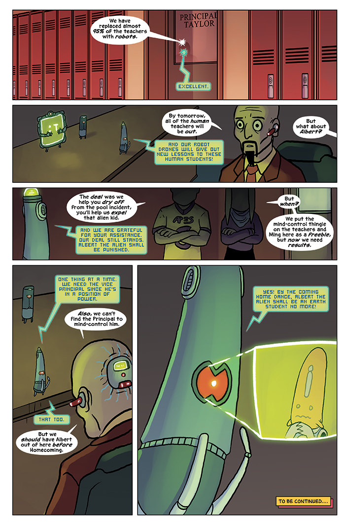 Substitute Teacher from Planet X Chapter 6 Page 24