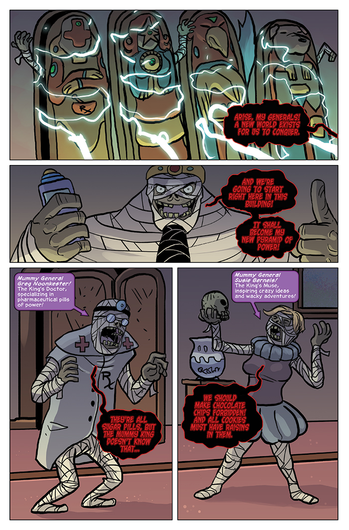 Substitute Teacher from Planet X Chapter 7 Page 8