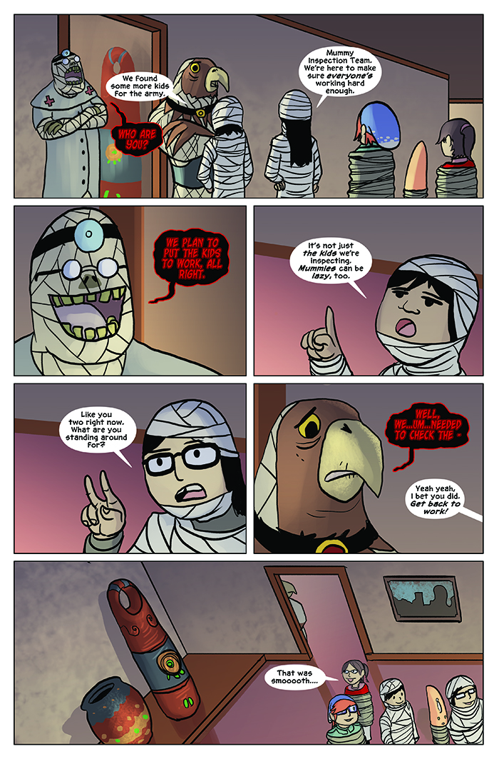 Substitute Teacher from Planet X Chapter 7 Page 16