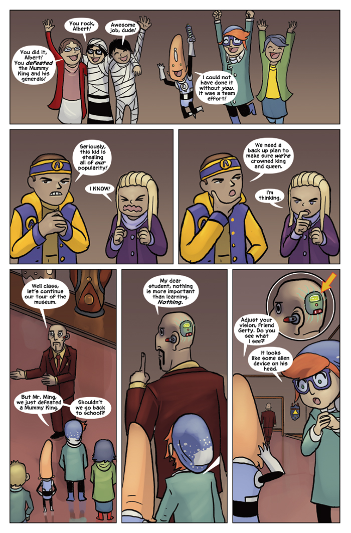 Substitute Teacher from Planet X Chapter 7 Page 23