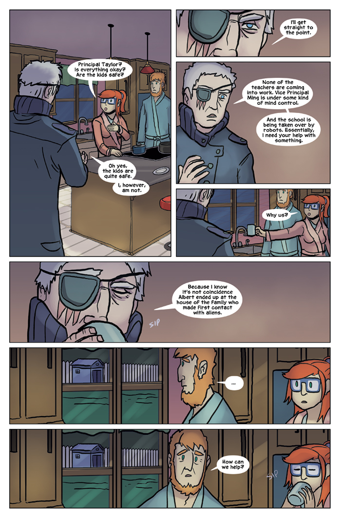 Substitute Teacher from Planet X Chapter 8 Page 2