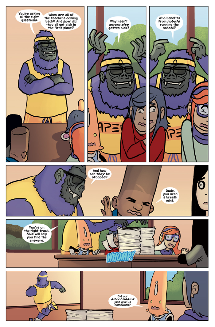 Substitute Teacher from Planet X Chapter 8 Page 5