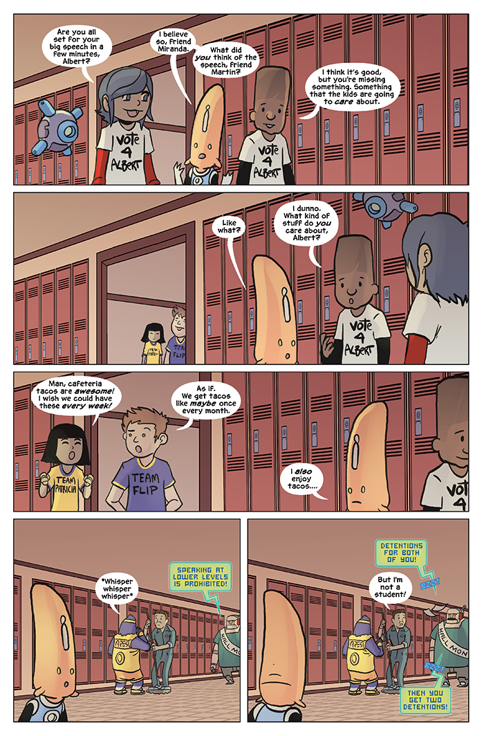 Substitute Teacher from Planet X Chapter 8 Page 15