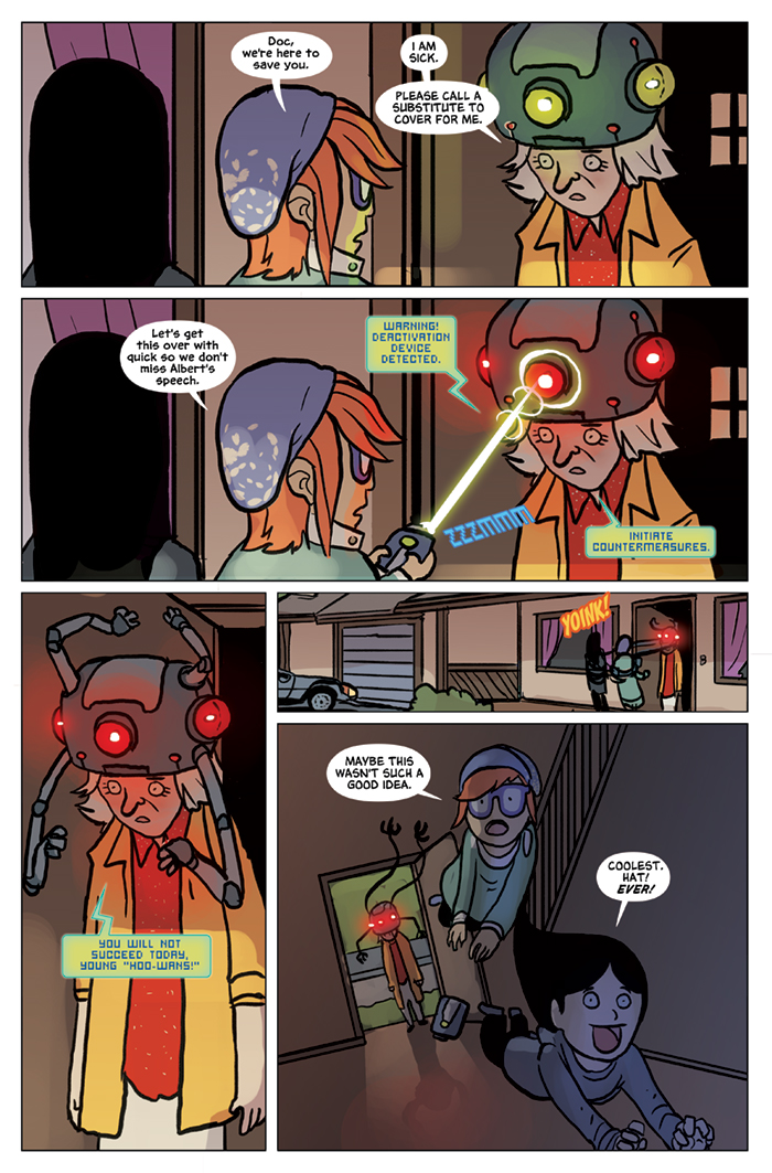 Substitute Teacher from Planet X Chapter 8 Page 19