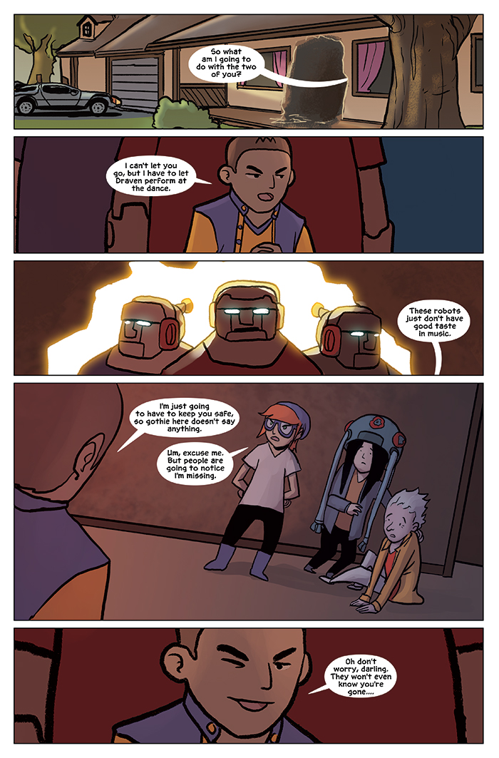 Substitute Teacher from Planet X Chapter 9 Page 1