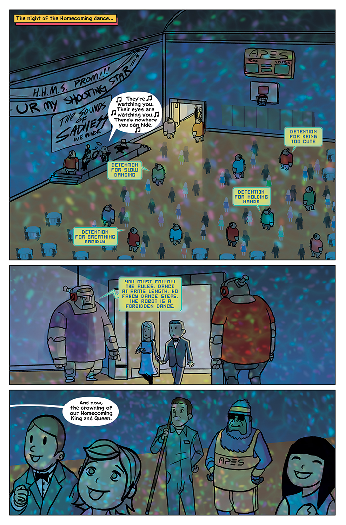 Substitute Teacher from Planet X Chapter 9 Page 7