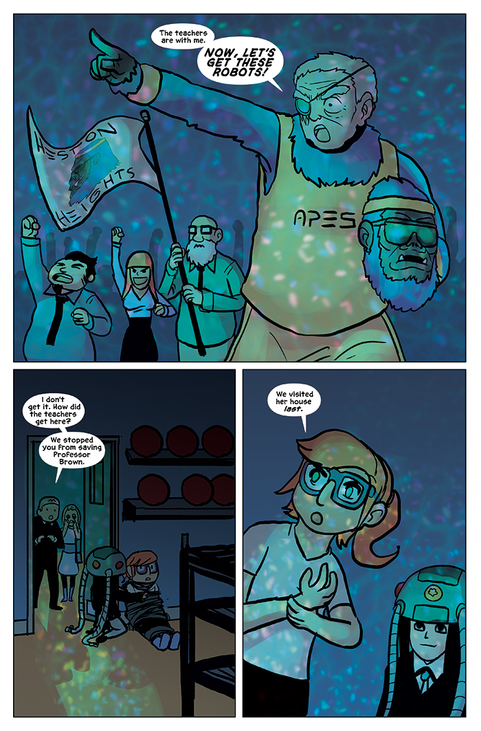Substitute Teacher from Planet X Chapter 9 Page 13