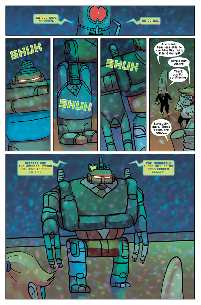 Substitute Teacher from Planet X Chapter 9 Page 14