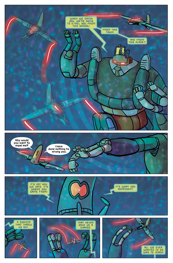 Substitute Teacher from Planet X Chapter 9 Page 17