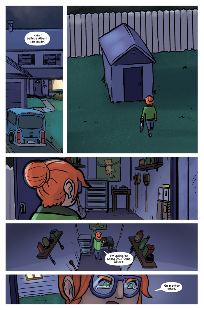 Space Bullies from Mars Chapter 16 Page 1