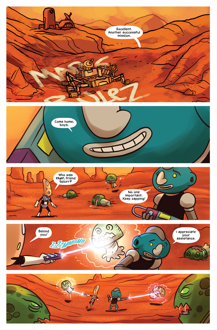 Space Bullies from Mars Chapter 16 Page 5